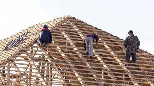 roof batten installation