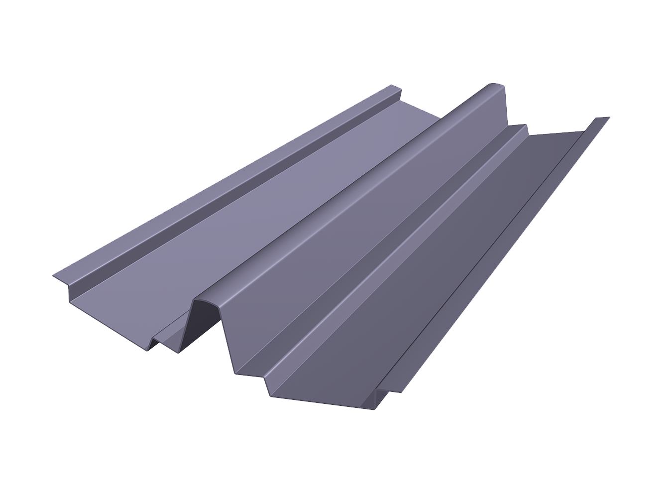 Filon V Flow Valley Trough roofing accessories