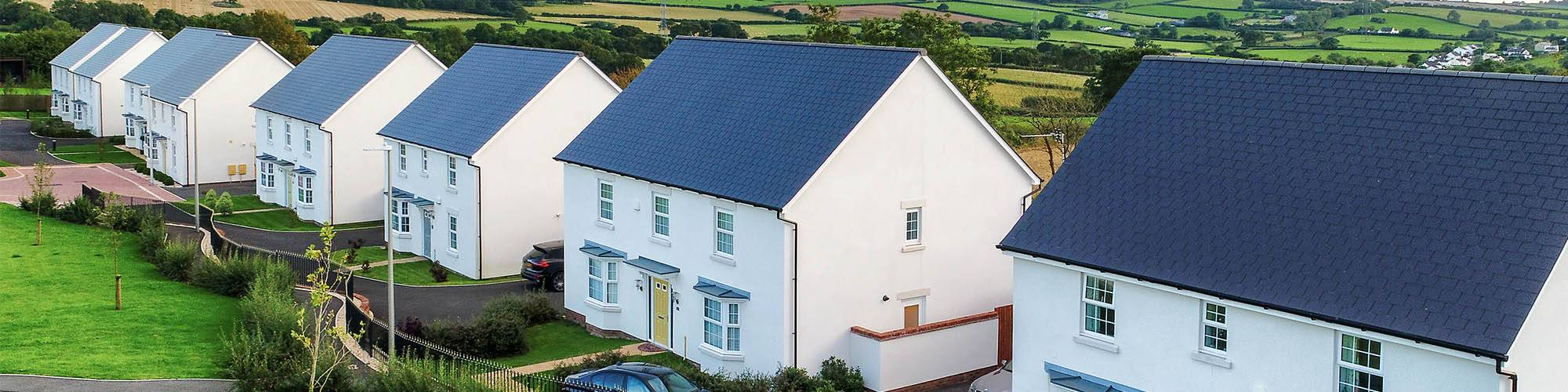 Houses with Cembrit Slate Roof